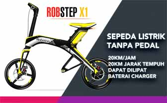 Helm sepeda Robstep X1 sepeda listrik Segway MiniPro