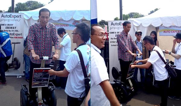 Segway dan Bapak Jokowi