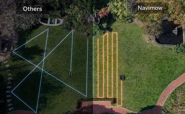 Segway Navimov tracking area