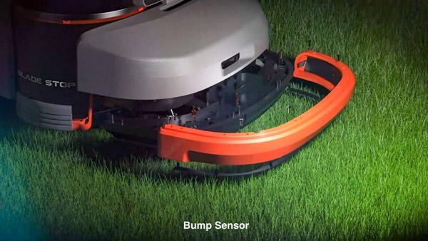 Segway Navimov bump sensor