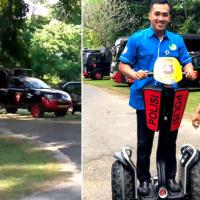 Segway Team Bali Police