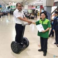 Bandara Halim Perdana Kusuma Segway i2 SE