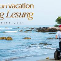 Tanjung Lesung Segway on Vacation 15 Agustus 2015